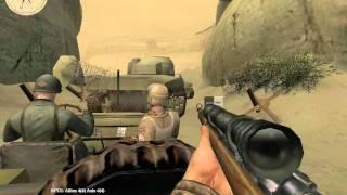 getlinkyoutube.com-Medal of Honor: Allied Assault Breakthrough - Kasserine Pass Part II (Part 2) [Walkthrough]