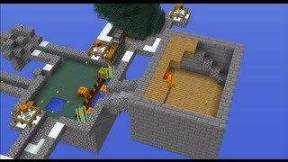 getlinkyoutube.com-Minecraft Timelapse: Skyblock