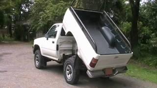 getlinkyoutube.com-1989 Toyota Pickup Dump Bed