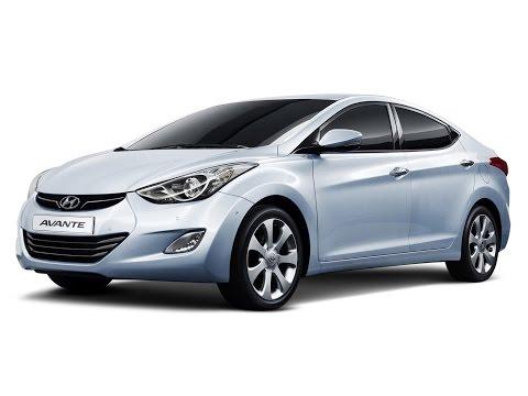Замена лобового стекла на Hyundai Elantra в Казани.