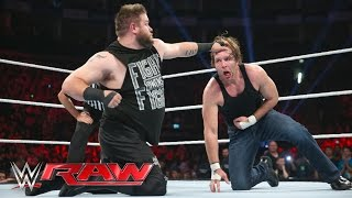 getlinkyoutube.com-Dean Ambrose vs. Kevin Owens: Raw, April 18, 2016