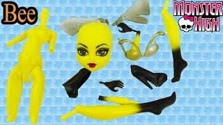 getlinkyoutube.com-Create A Monster High Insect Bee Girl Doll Add On Starter Pack CAM Playset Set