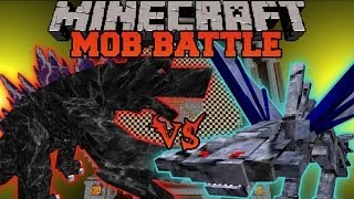 getlinkyoutube.com-MOBZILLA VS. 200 CEPHADROMES - Minecraft Mob Battles - OreSpawn Mod Battle