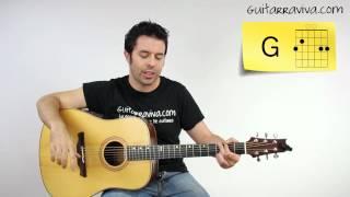 Como tocar Pablo Alborán Tanto Acordes Tutorial Guitarra acústica fácil