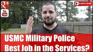 getlinkyoutube.com-USMC Military Police: Best Job in the Services?