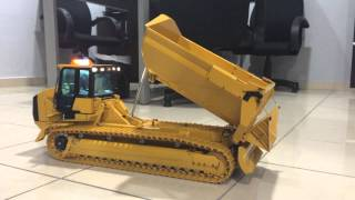 getlinkyoutube.com-ScaleART CAT 963D Transporter Test