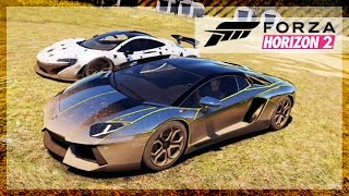 Forza Horizon 2 - Gumball Cars & Fun at The Airport w/The Crew