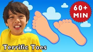 getlinkyoutube.com-Terrific Toes and More   Nursery Rhymes from Mother Goose Club!