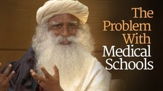 getlinkyoutube.com-What's the Problem with Medical Schools? - Sadhguru at Duke University with Tracy Gaudet