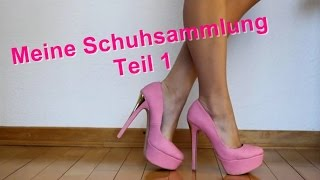 getlinkyoutube.com-Meine Schuhsammlung TEIL1/3    My High Heels Shoe Collection PART1/3