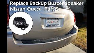 getlinkyoutube.com-Fix Nissan Reverse Sensor Buzzer (Quest 2004 - 2009) - PART 2