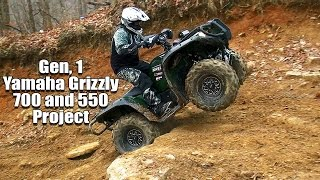 getlinkyoutube.com-Yamaha Grizzly 700 and 550 Project Upgrade to 2016 Standards and Beyond