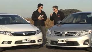 getlinkyoutube.com-Honda Civic EXS / Toyota Corolla SEG - Comparativo caja manual - Matías Antico, Martín Sacán