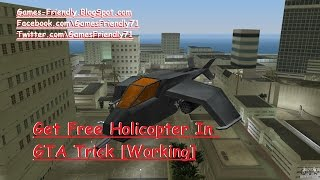 [New Update] How to get Helicopter in GTA Vice City Hack- Games Friendly