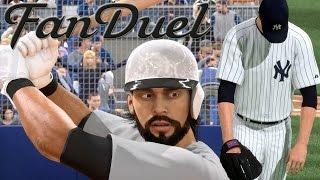 getlinkyoutube.com-MLB 15 The Show Diamond Dynasty PS4 Gameplay - Win Money on FANDUEL - Home-Runs Everywhere!