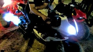 BMW S1000RR 2012 Top Speed - 345km/h on dyno! Akrapovic Full and Quickshifter