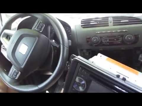 Замена штатной магнитолы SEAT LEON/SKODA/VW