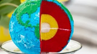 getlinkyoutube.com-LAYERED EARTH CAKE - NERDY NUMMIES