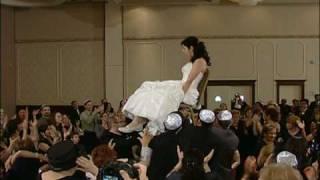 getlinkyoutube.com-Rebecca and Jonathan Jewish Wedding Jan 10 2010- Horah Dance
