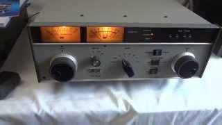 getlinkyoutube.com-Ten Tec Titan model 425 linear amplifier 1.5kW, two 3CX800A7 tubes