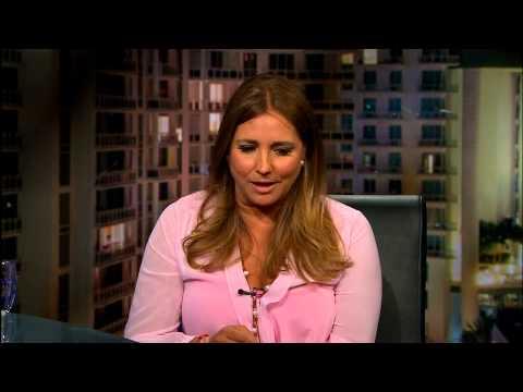 Gabriela Rivero actriz mexicana en el show de Jaime Bayly