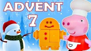 getlinkyoutube.com-Toy Advent Calendar Day 7 - - Shopkins LEGO Friends Play Doh Minions My Little Pony Disney Princess