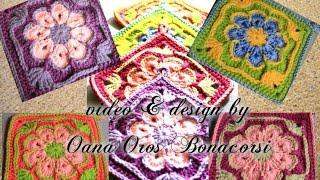 getlinkyoutube.com-crochet african flower square