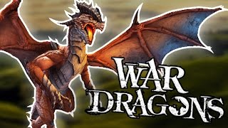 getlinkyoutube.com-FLY DRAGONS, DESTROY CITIES! - War Dragons - Gameplay Walkthrough - iOS & Android