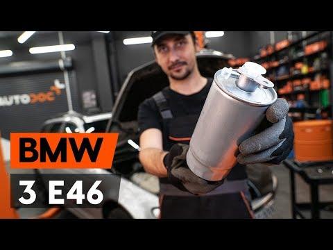 Как заменить топливный фильтр наBMW 3 (E46) (ВИДЕОУРОК AUTODOC)