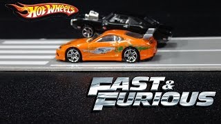 getlinkyoutube.com-Fast & Furious Hot Wheels Cars Movie Scenes Collection