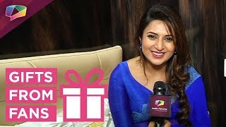 getlinkyoutube.com-Divyanka Tripathi receives gifts from her fans