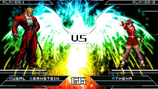 getlinkyoutube.com-[KOF Mugen] Rugal Bernstein vs Sexy Athena