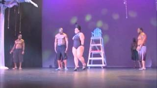 getlinkyoutube.com-MISS MIAMI PLUS SIZE PAGEANT (2013) CATEGORY 2 - SWIMWEAR