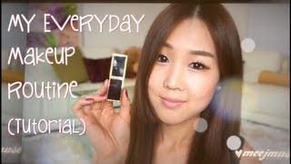 getlinkyoutube.com-Korean Everyday Makeup Routine Tutorial ♡