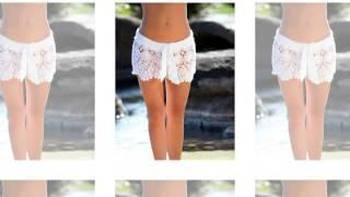 getlinkyoutube.com-crochet shirts white crochet shorts free filet crochet patterns
