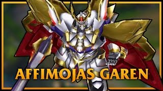 getlinkyoutube.com-Affimojas Garen LoL Custom Skin ShowCase