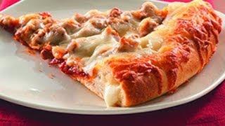 getlinkyoutube.com-¿Como hacer PIZZA CON ORILLA DE QUESO y PIZZA CON DEDITOS DE QUESO? Receta de pizza fácil