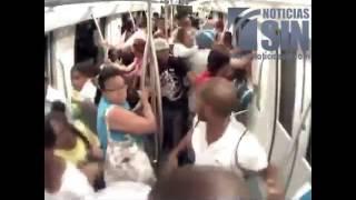 Video muestra el momento exacto en que ocurre atentado terrorista en el metro - 31/10/2014