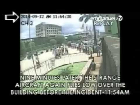 CCTV Showing moments TB Joshuas Church Collapses