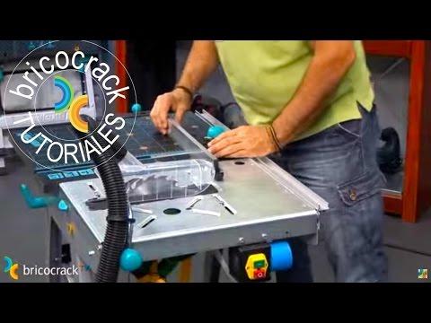 Bricolaje: banco de trabajo para cortar y fresar (BricocrackTV)