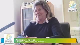 Tomar - Entrevista a Anabela Freitas presidente do Município