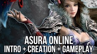 getlinkyoutube.com-Asura Online (Free MMORPG): Intro + Character Creation + Gameplay (China)