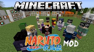 getlinkyoutube.com-Minecraft Anime Naruto Mod Review (Sage Mode, Susanoo, Rinnegan, Amaterasu & More)