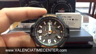 getlinkyoutube.com-How to set Casio GW4000-1A G Shock Module 5087 by Valencia Time Center