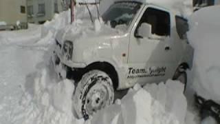 getlinkyoutube.com-ジムニー大雪からの脱出