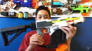 Huge 2018 NERF Gun Unboxing! + Mod Update