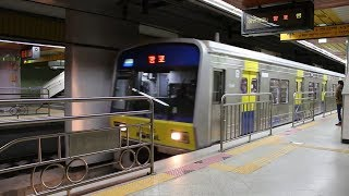 getlinkyoutube.com-분당선 오리역에 들어온 망포행 열차 (Bundang Line Ori Station)