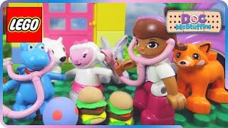 getlinkyoutube.com-♥ LEGO Disney Doc McStuffins Lambie Get`s Sick (Episode 6)