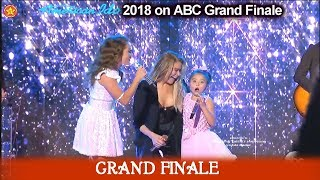 "Layla Spring and sister Dyxie sing ""Blue"" SURPRISED by LeAnn Rimes American Idol 2018  Grand Finale"