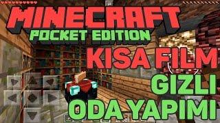 Kısa Filmli Gizli Oda Yapımı - Minecraft Pocket Edition
